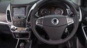2016 SsangYong Korando 2.2 ELX steering wheel