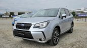 2016 Subaru Forester S-Limited (facelift) front in the metal