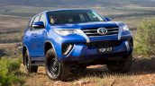 2016 Toyota Fortuner blue launched in Australia