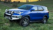 2016 Toyota Fortuner chrome bull bar launched in Australia
