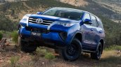 2016 Toyota Fortuner chrome grille in Australia