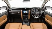2016 Toyota Fortuner dashboard launched in Australia