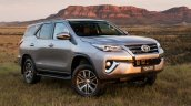 2016 Toyota Fortuner front quarter launched in Australia