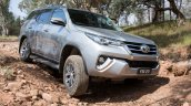 2016 Toyota Fortuner off road launched in Australia