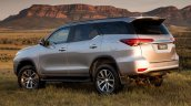 2016 Toyota Fortuner rear quarter launched in Australia