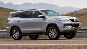 2016 Toyota Fortuner tracking shot launched in Australia