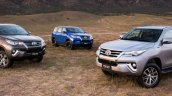 2016 Toyota Fortuner variants launched in Australia