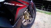 Bajaj Pulsar RS200 Demon Black alloy wheel (Fear the Black)