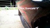 Bajaj Pulsar RS200 Demon Black body graphics (Fear the Black)