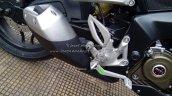 Bajaj Pulsar RS200 Demon Black foot peg (Fear the Black)