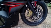Bajaj Pulsar RS200 Demon Black fork and disc brake (Fear the Black)