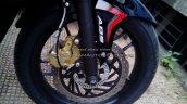 Bajaj Pulsar RS200 Demon Black front disc brake (Fear the Black)