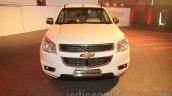 Chevrolet Trailblazer front India launch