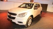 Chevrolet Trailblazer front quarter India launch