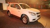 Chevrolet Trailblazer front quarters India launch