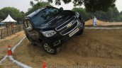 Chevrolet Trailblazer off-road front India launch