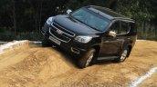 Chevrolet Trailblazer off-roading India launch