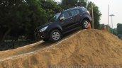 Chevrolet Trailblazer off-roading side India launch