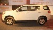Chevrolet Trailblazer profile India launch