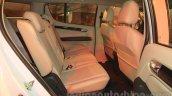 Chevrolet Trailblazer rear legroom India launch