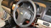 Chevrolet Trailblazer steering India launch