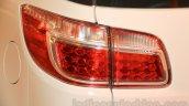 Chevrolet Trailblazer taillights India launch