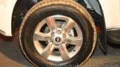 Chevrolet Trailblazer wheel India launch