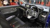 Daihatsu Move Custom interior at the 2015 Tokyo Motor Show