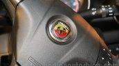 Fiat Abarth Punto steering logo