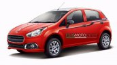 Fiat Punto Evo Sportivo leaked