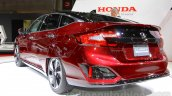 Honda Clarity Fuel Cell rear three quarters left