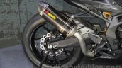 Honda Lightweight Supersports Concept exhaust at the 2015 Tokyo Motor Show
