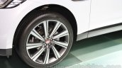 Jaguar F-Pace alloys at the 2015 Tokyo Motor Show