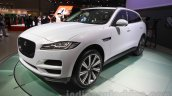 Jaguar F-Pace front quarter at the 2015 Tokyo Motor Show