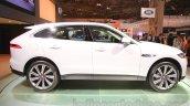 Jaguar F-Pace profile at the 2015 Tokyo Motor Show