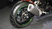 Kawasaki Ninja 250 ABS exhaust at the 2015 Tokyo Motor Show
