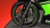 Kawasaki Ninja 250 ABS front wheel at the 2015 Tokyo Motor Show