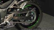Kawasaki Ninja 250 ABS rear wheel at the 2015 Tokyo Motor Show