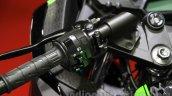 Kawasaki Ninja 250 ABS switches at the 2015 Tokyo Motor Show