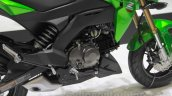 Kawasaki Z125 Pro engine
