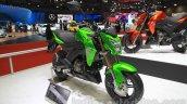 Kawasaki Z125 Pro front three quarters angle