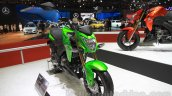 Kawasaki Z125 Pro front three quarters