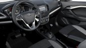 Lada Vesta interior press images