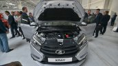 Lada XRAY engine bay undisguised