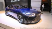 Lexus LF-FC concept front quarters at the 2015 Tokyo Motor Show