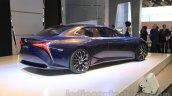 Lexus LF-FC concept rear quarter at the 2015 Tokyo Motor Show
