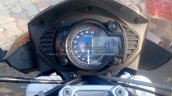 Mahindra Mojo black instrument cluster spotted