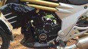 Mahindra Mojo engine in Images