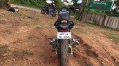 Mahindra Mojo rear in Images
