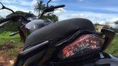 Mahindra Mojo taillight in Images
